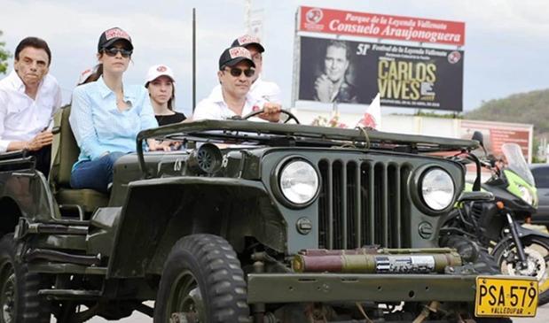 Desfile de Jeep Willys Parranderos en Valledupar 1 - Foto Fundación FLV