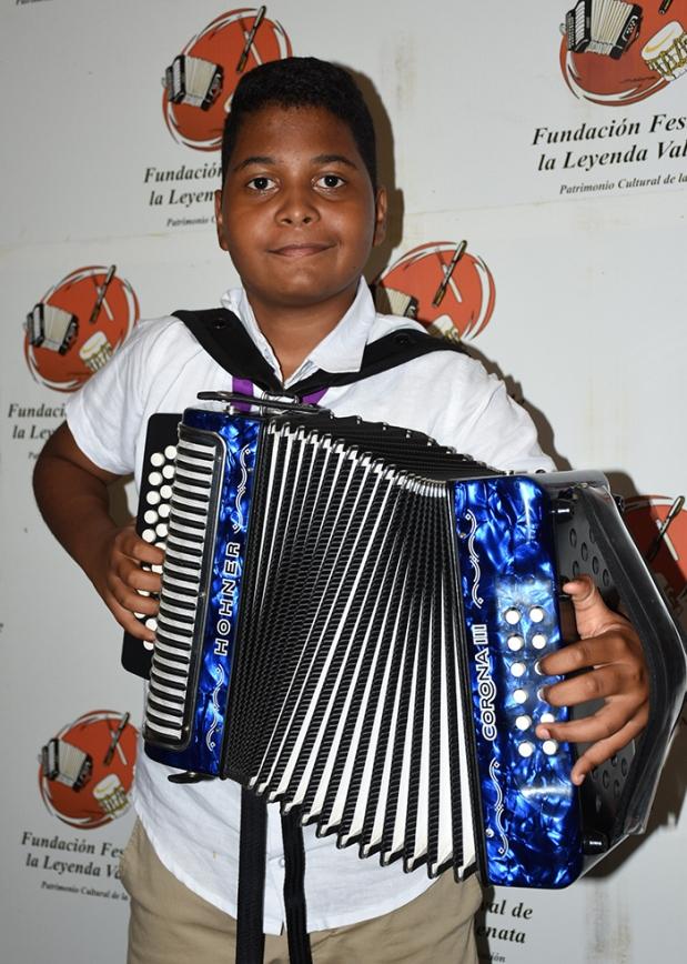 Jerónimo Andrés Villazón Murillo, REy Infantil 2018