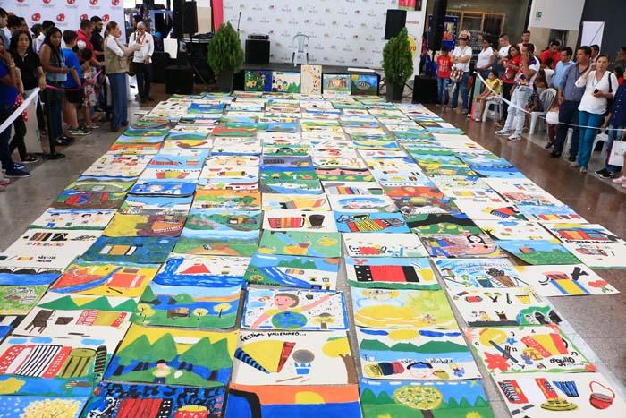 Trabajos presentados en el concurso Vives Pintando