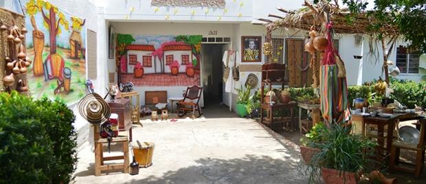 Casa Festivalera ganadora - Nelly Arias Zuleta