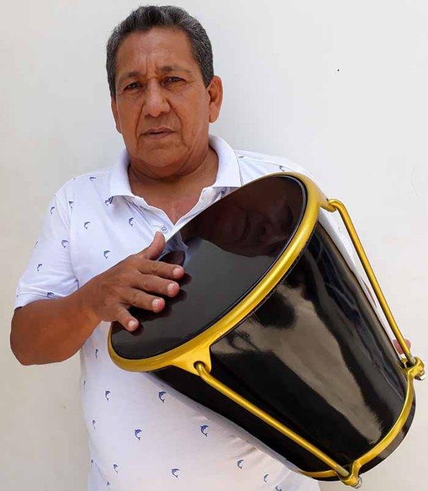 Jairo Suárez Reales, cajero que participó con Diomedes Díaz en el Séptimo Festival Vallenato