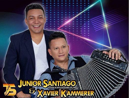Junior Santiago y Xavier Kammerer