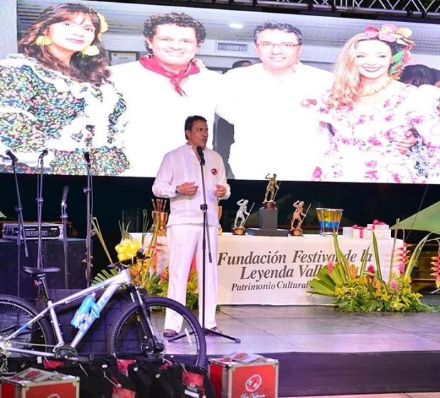 Rodolfo Molina Araújo, presidente de la Fundación FEstival de la Leyenda Vallenata