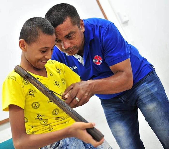 Camilo Andrés Andrade, niño especial
