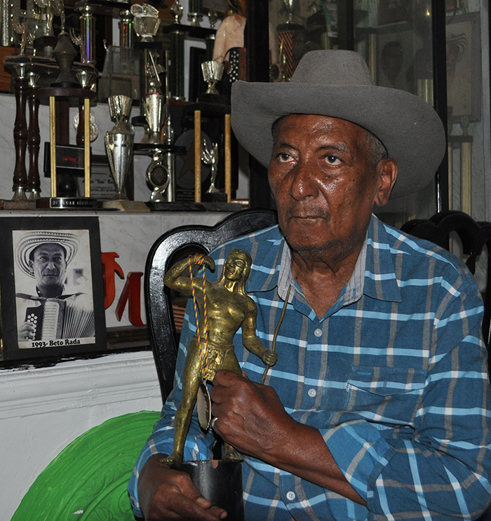 El Rey Vallenato Alberto Rada Ospino - Foto Daniel Gutiérrez Palomino