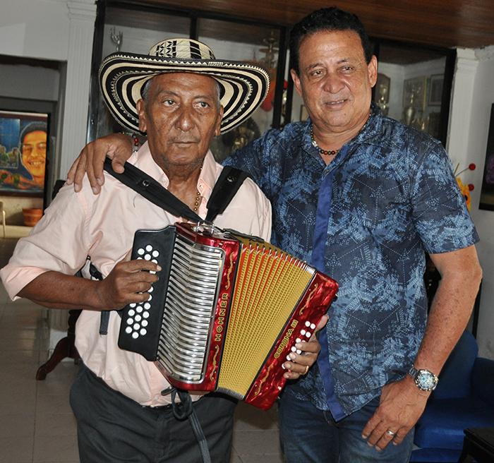 Beto Rada y Miguel Herrera