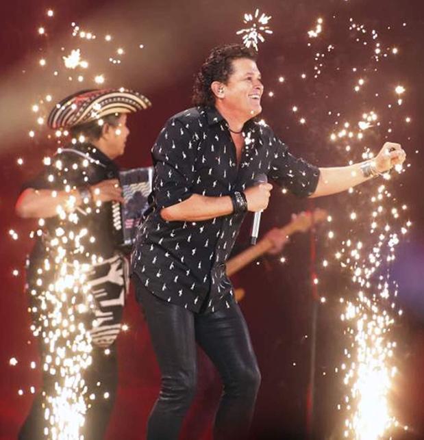 Carlos Vives y el Rey Vallenato Egidio Cuadrado