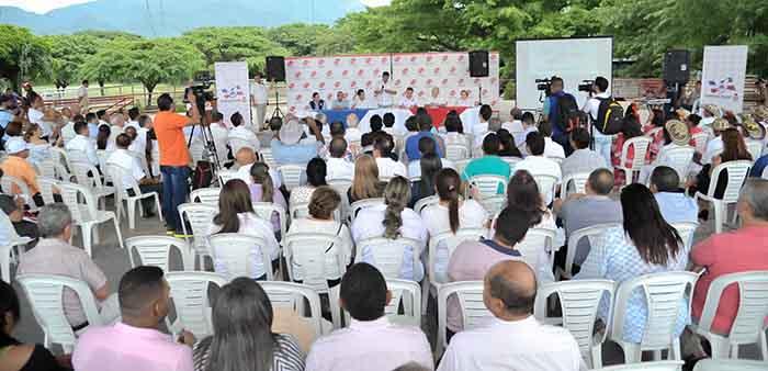 Acto Instalación Mesa de Concertación en el Parque de la Leyenda Vallenata 'Consuelo Araujonoguera'