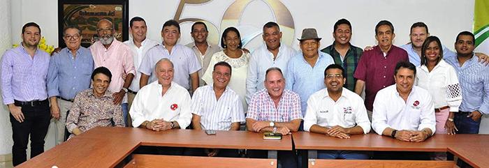 Creación Junta Cívica del Folclor Vallenato