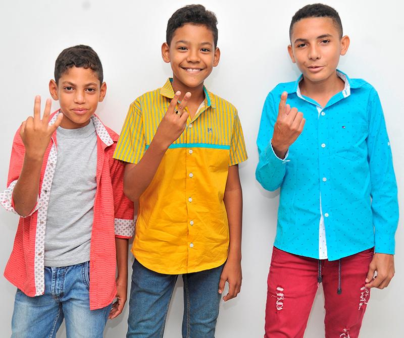 Samuel López Mendoza, Eudis Almendrales Torres e Ismael Blanco Quevedo, ocuparon el tercer, segundo y primer lugar, respectivamente, en el concurso de piqueria infantil